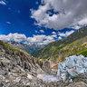 Seracs on Glacier d' Argentier