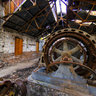 White River Falls Old Powerplant Generator Room