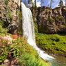 Tumalo Falls, West of Bend Oregon August 24th 2013