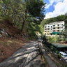 Montenegro, Petrovac, Road in forest