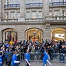 Apple Store Amsterdam on opening day