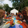 Camino Surf: Dinner in the Camp