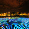 Zadar - The Greetings to the Sun at Night