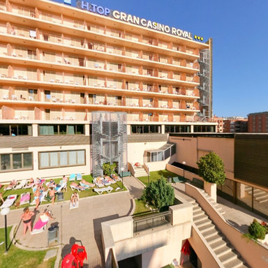 H top casino royal costa brava spain