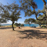 Camping Markadia Barragem De Odivelas Alvito Alentejo Under The Trees