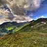 Aussicht vom Berggeistweg HDR