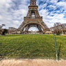 Eiffel Tower at Champ de Mars