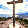 The Cross Monument in Benidorm, Costa Blanca - Natural Park of Sierra Helada.