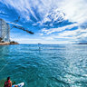 Skiers Launching - Cable Ski Benidorm - Water Sports in Benidorm