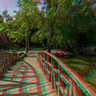 Bridge in National Garden-3D