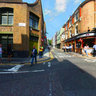 Junction of Rivington Street & Charlotte Street, Shoreditch, London UK