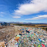 Landfill of solid municipal waste