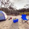 Castaway Island Preserve Park - Camping Area