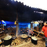 Cuisine in Bac Ha fair (thng c  ch phin Bc H)