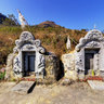 Grave yard in Pho Bang, Ha Giang (Ngha a  ca ngi dn  Ph Bng)