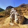 A stone grave in Pho Bang, Ha Giang (Nấm mồ đá của người Phó Bảng)