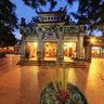 Tay Ho Temple, Hanoi (chiều muộn Phủ Tây Hồ)