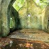 Inside the broken church In Ba Vi National Park, Hanoi, Vietnam (Bên trong nhà thờ đổ rừng quốc gia Ba Vì)