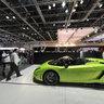 Dubai Motorshow 2011 - Lamborghini Stand, inside DWTC Exhibition Hall