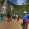 Waterfall at Plitvice Lakes, Croatia