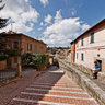 Perugia, Via Appia and Via Acquedotto - Stairs from the old town and Roman Aqueduct