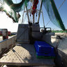Buesum prawn cutter deck