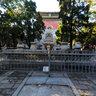Ding Tomb, front yard third 前院三进石五供 (889)
