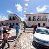 Festa do Divino - Em frente a Igreja do Carmo