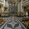 Inside Dominican cathedral in Lviv. 020