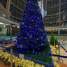 The Christmas tree of the 2nd terminal of Haneda Airport in 2006