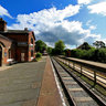 Hadlow Road Restored Train Station Willaston Wirral England