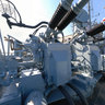 Deck USS KIDD 40 mm guns Baton Rouge LA