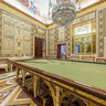 billiard room. labrador royal house. aranjuez