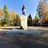 Kemerovo Volkov Statue