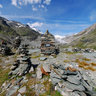 Stone garden in Hohe Tauern