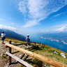 View point at Monte Baldo