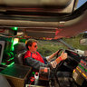 Back to the Future DeLorean Interior