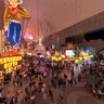Fremont Street (Gold Diggers at the Golden Nugget) Las Vegas, Nevada