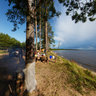 The coast of Lake Onega