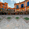 Renovated Old San Pedro Bullring Plaza