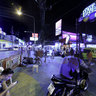 Patong Pub Street At Night