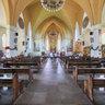 Interior da Catedral de Pedra em Canela - RS