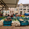 The farmers market around Freiburger Muenster