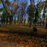 Park named after Ivan Petrovich Kotlyarevskogo. Poltava. Ukrain