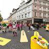 Castor- Aktion Braunschweig Kohlmarkt Schuhstraße 29102011