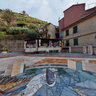 Seagull Mosaic At Piazza Di Manarola