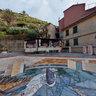 Seagull Mosaic At Piazza Di Manarola