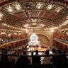 Inside the Teatro Juarez