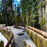 Athabasca Falls - Frozen