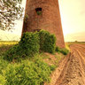 Abandoned windmill of Gouy-sous-Bellonne